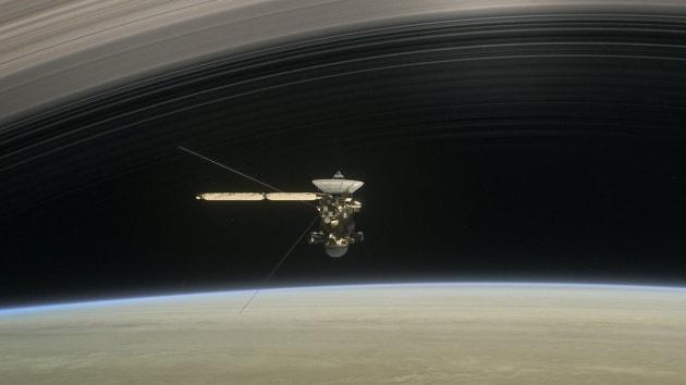 Una nuova visione degli anelli di Saturno