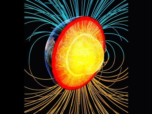Perché il campo magnetico terrestre si inverte