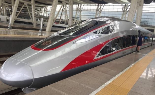 Cina: treni veloci su lunghe ferrovie veloci