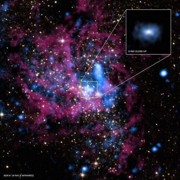 La prima foto dei confini di un buco nero (forse)