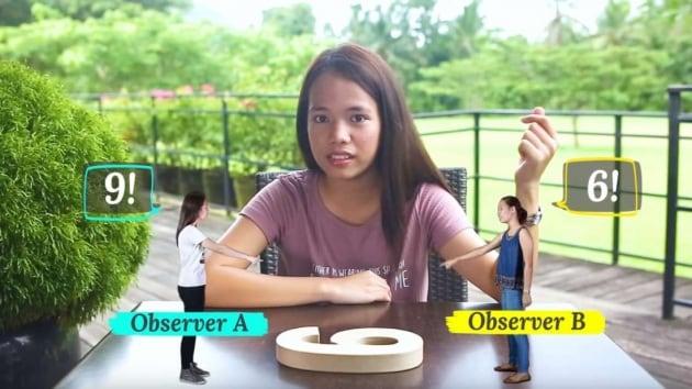 Questa ragazza ha trovato un modo geniale per spiegare la Teoria della Relatività