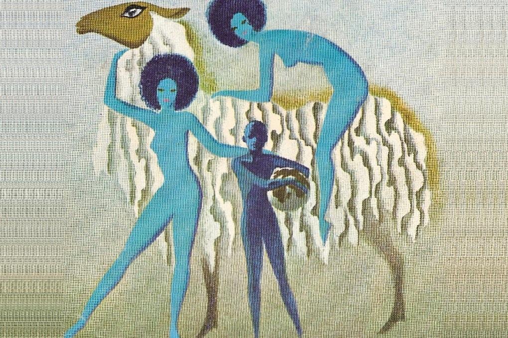 Illustrazione per un'edizione di L'uomo che comprò la Terra