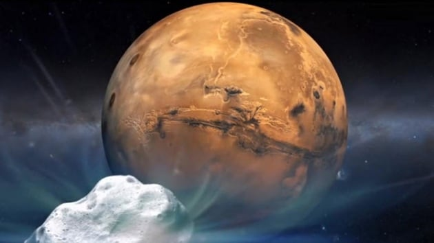 Molecole organiche su Marte: come ci sono arrivate