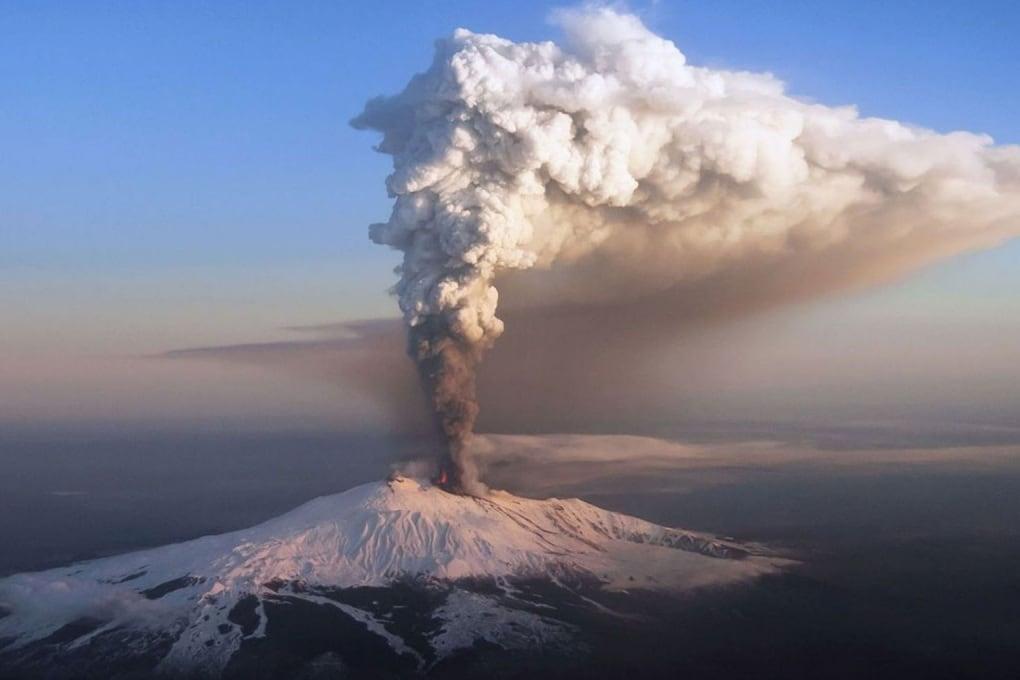 Uno studio dell'INGV svela il lungo cammino del magma dell'Etna