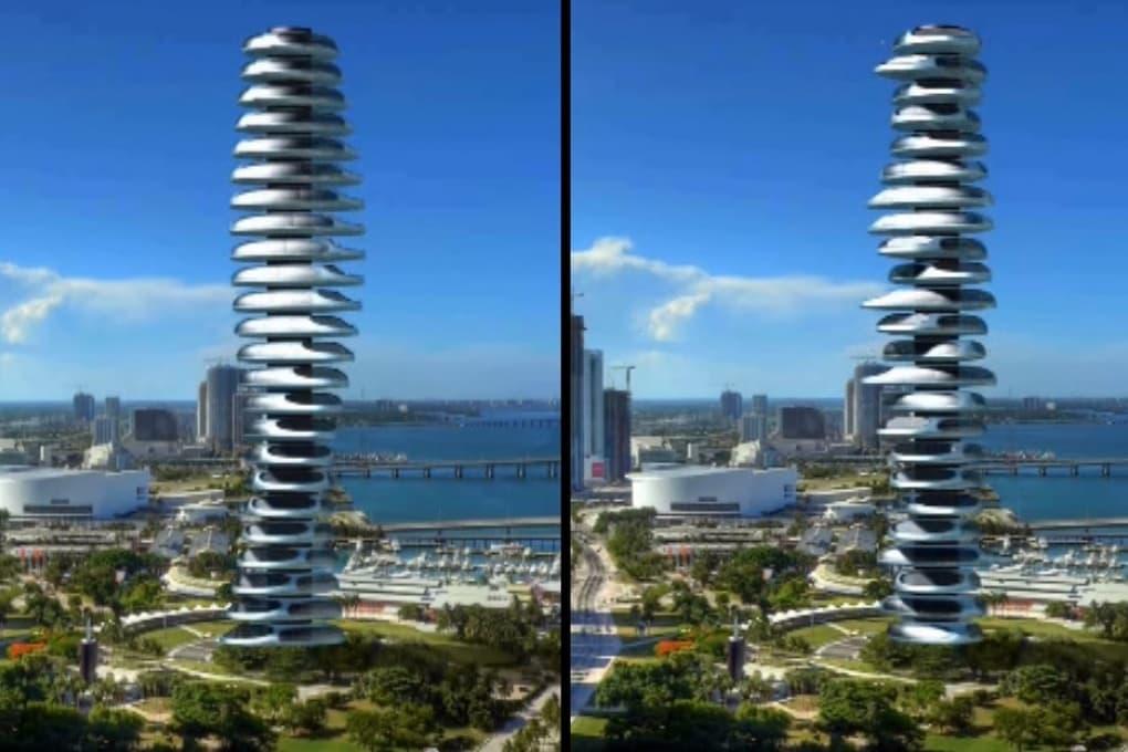 A Dubai il primo grattacielo che si muove?
