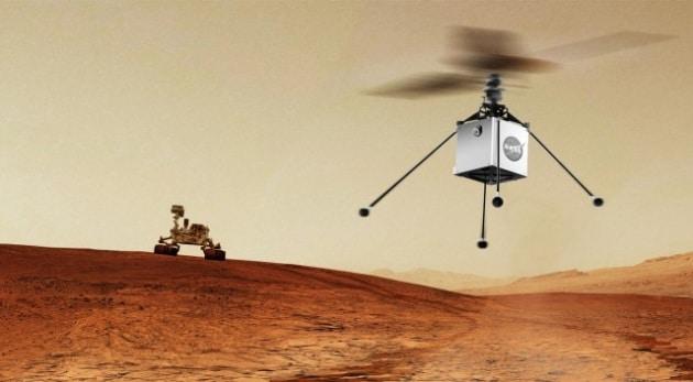 Mars Helicopter: un elicottero su Marte