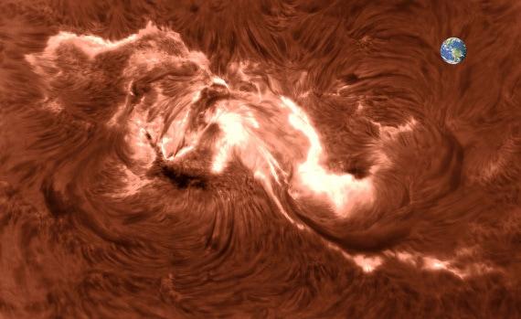 Sol, flares solares, fendas, flares, campo magnético solar, astrofísica, trança magnética