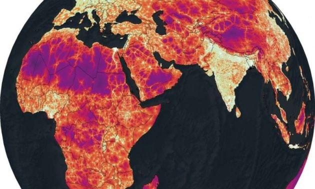 Quanto distano le città da qualunque punto della Terra: le mappe