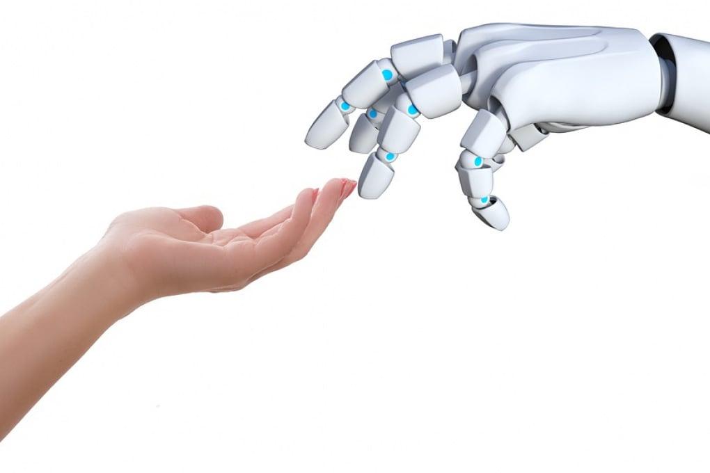 Il senso del tatto dei robot