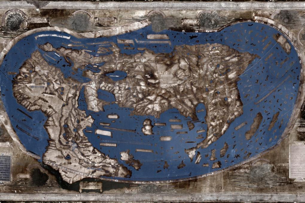La mappa che guidò Colombo verso il Nuovo Mondo