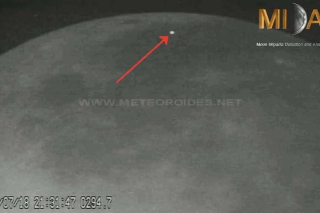 Sulla Luna: due meteoroidi in 24 ore