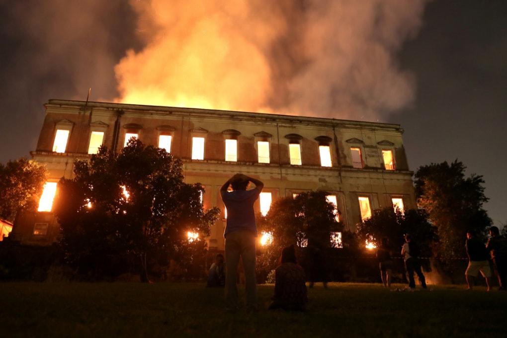 I reperti persi nell'incendio del Museo Nazionale del Brasile