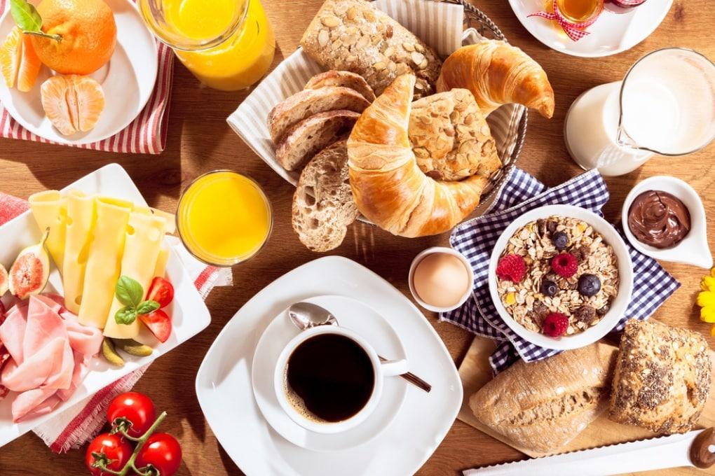 Il banchetto non ingrassa all'ora di colazione
