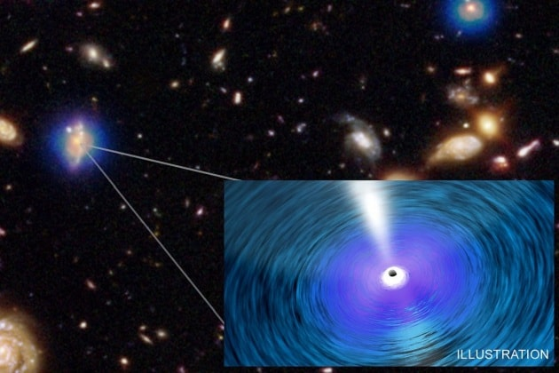 Gigantesci buchi neri nelle galassie vicine