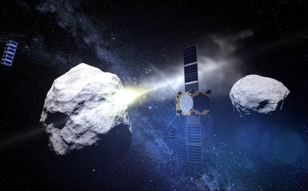 Nel 2024 la sonda DART della Nasa proverà a deviare un asteroide dalla sua orbita