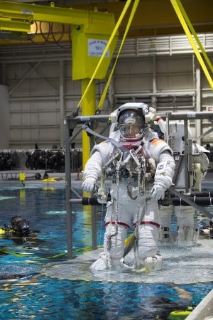L'astronauta Matthias Maurer