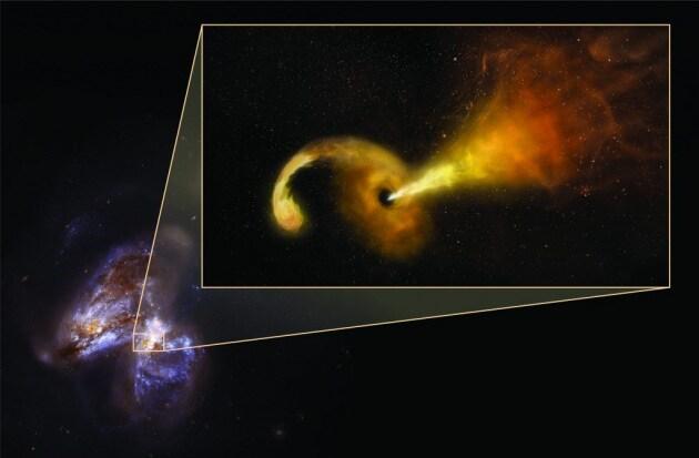 Un buco nero divora una stella: l'eruzione osservata in diretta