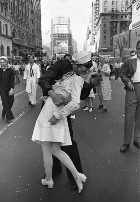 Quel Bacio A Times Square...