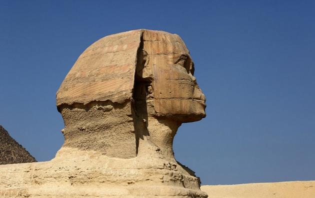 Chi ha rotto il naso alla Sfinge?