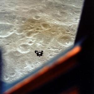 Il modulo lunare Snoopy.