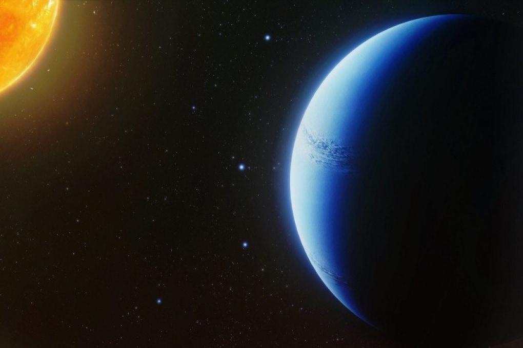 L'atmosfera di un esopianeta è totalmente senza nuvole