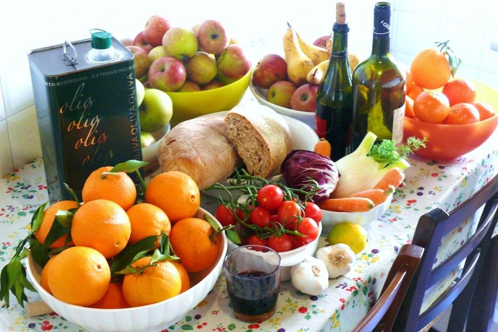 Dieta mediterranea: OK anche in estate