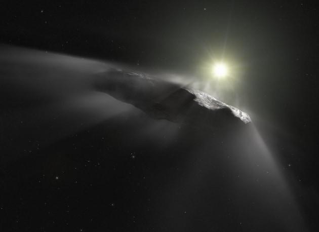 l asteroide sigaro è una sonda aliena? l ipotesi di harvard su oumuamua accende la polemica