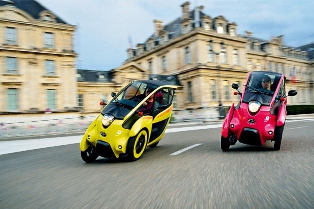 Ha:mo, il progetto di car sharing di Toyota