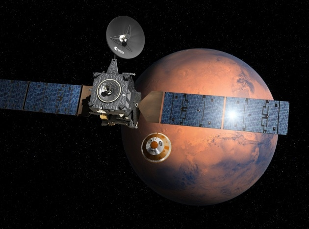 ExoMars e Schiaparelli: Marte dietro l'angolo