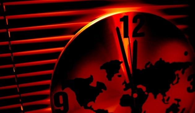 Doomsday Clock: due minuti alla mezzanotte