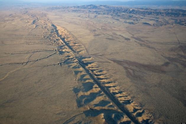 Scoperta una nuova faglia vicino a quella di San Andreas, in California