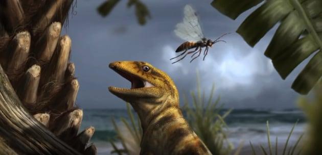 La lucertola fossile delle Dolomiti che rivoluziona la storia degli squamati