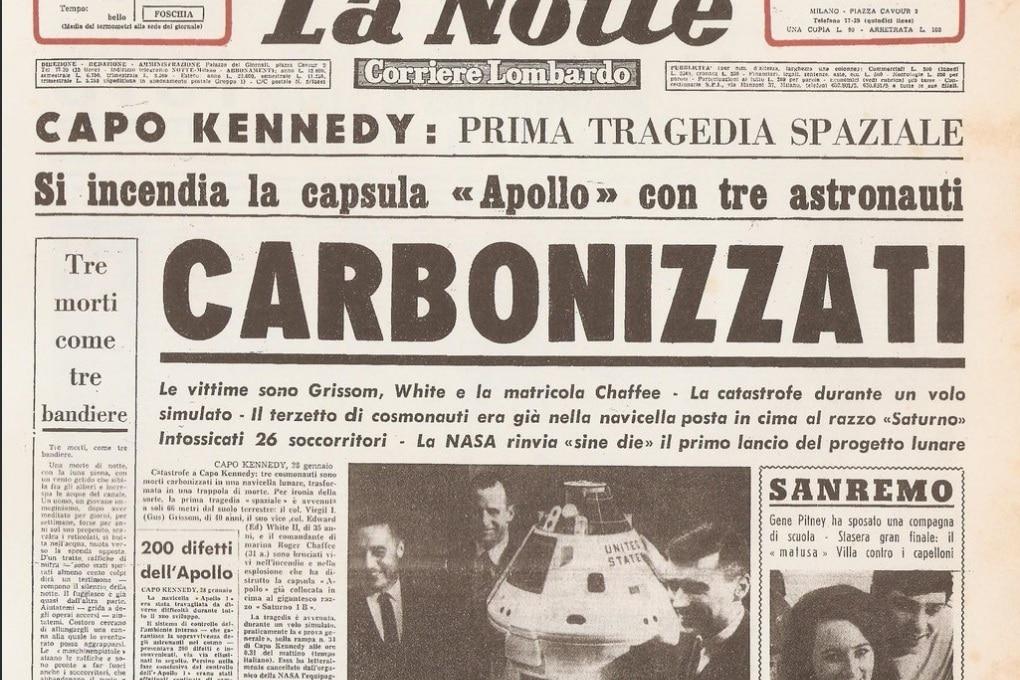 Cinquanta anni fa la tragedia di Apollo 1