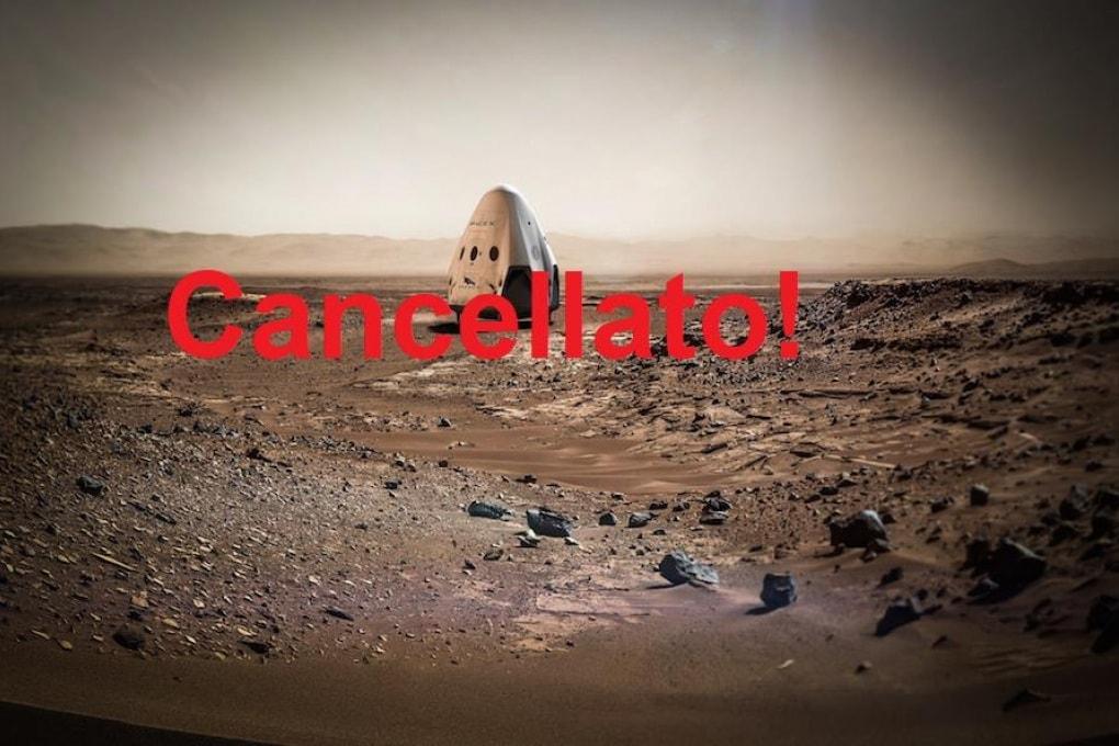 SpaceX: perché è stata cancellata la missione Marte 2020 con la Red Dragon