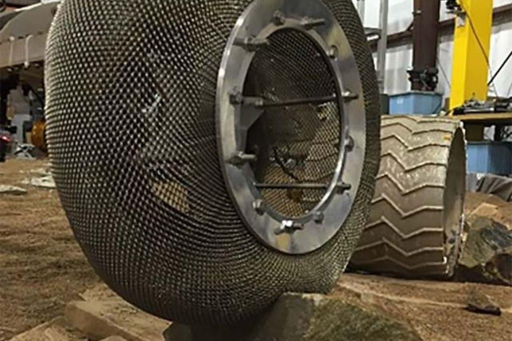 La NASA reinventa la ruota. In maglia metallica