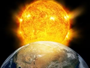 temperatura della Terra, vapore acqueo, atmosfera della Terra, riscaldamento globale
