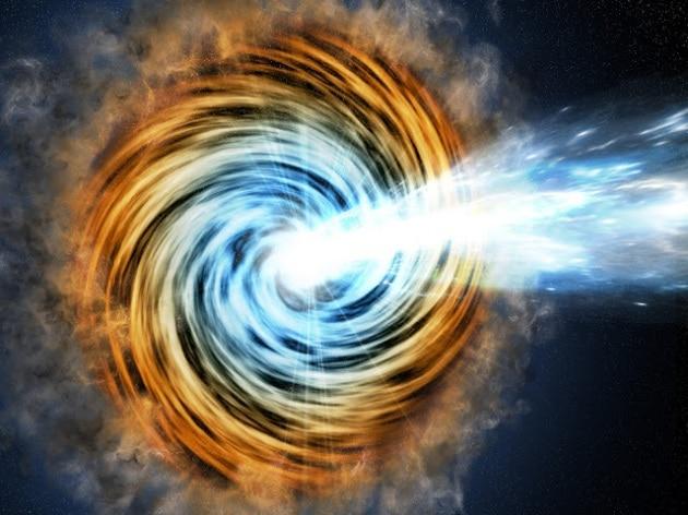 Galassie blazar agli inizi della storia dell'Universo