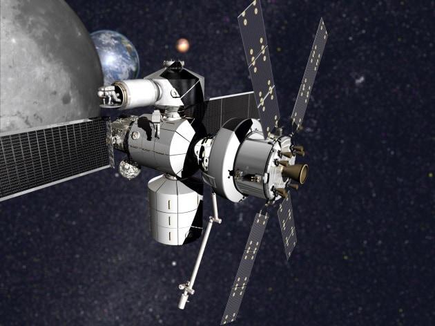 Il primo prototipo di stazione lunare