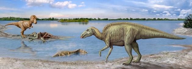 carbone risalente fossili dinosauro agganciare blocco 2014