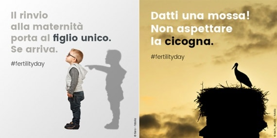 #fertilityday, fertility day 2016, fertilità, fecondità, natalità