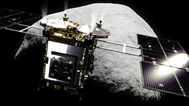 Hayabusa 2 e l'asteroide Ryugu