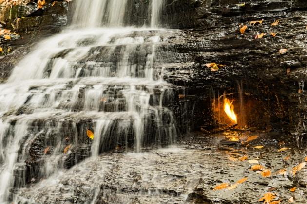 Che cos'è la fiamma eterna di Chestnut Ridge?