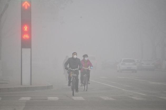Lo smog in Cina legato alla perdita dei ghiacci artici