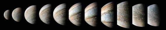 sistema solare, nasa, giove, sonda juno, grande macchia rossa