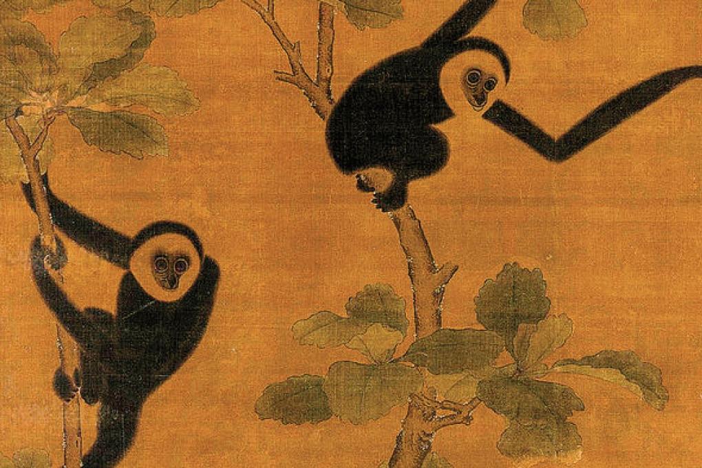 Un misterioso gibbone a guardia di una tomba imperiale cinese