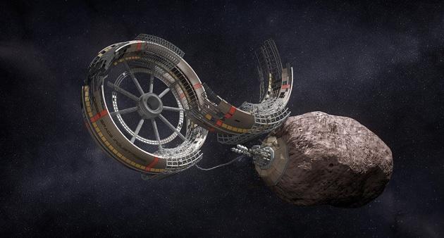 Test sulla ISS: i batteri per estrarre metalli sugli asteroidi