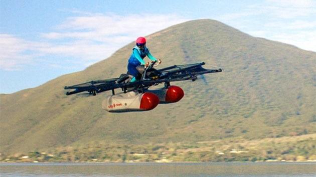 Kitty Hawk, la moto volante per gli spostamenti urbani
