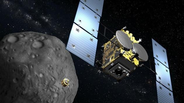 Ryugu: il bombardamento dell'asteroide