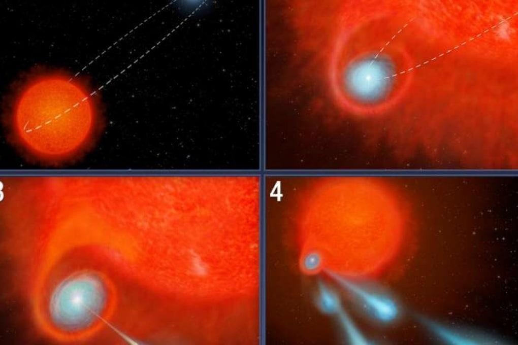 Hubble e il cannone di palle di plasma