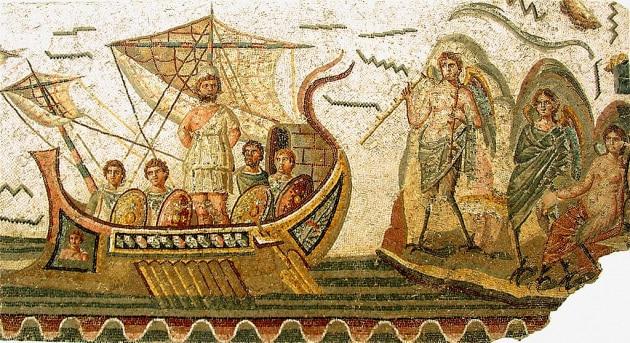 Trovata una tavoletta con i versi dell'Odissea